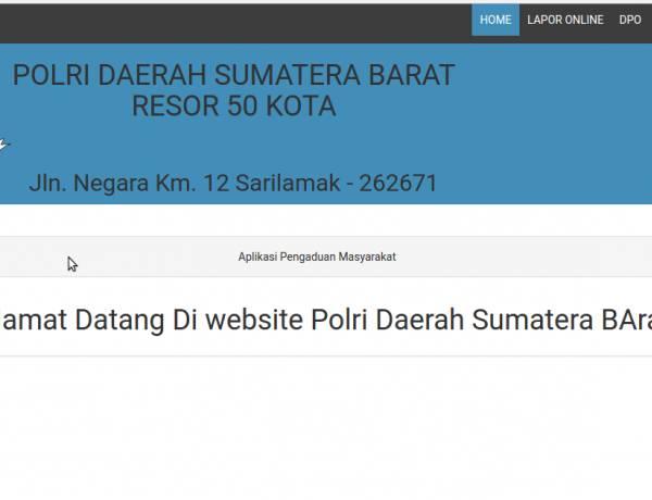 Download aplikasi Pengaduan masyarakat berbasis Web GRATIS