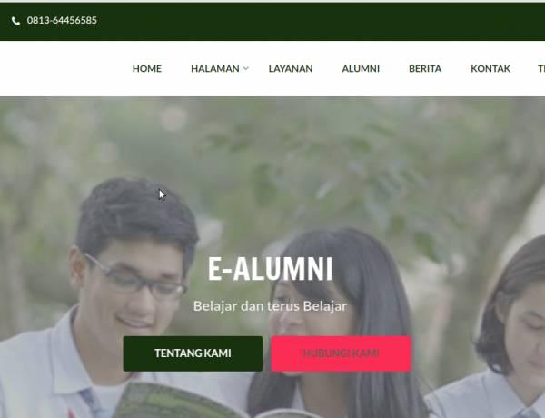 Sistim Informasi Alumni dengan Codeigniter
