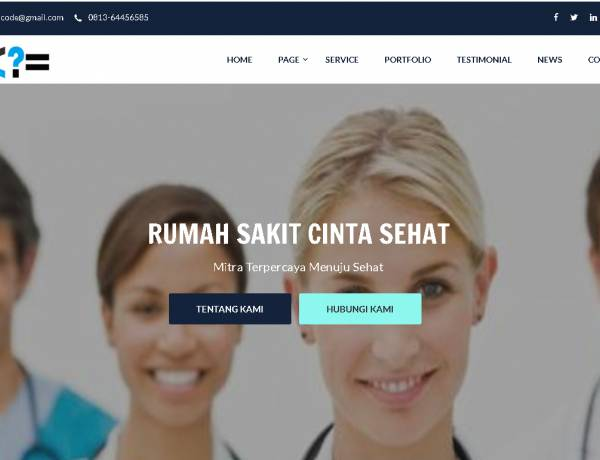 website company profile Terbaik