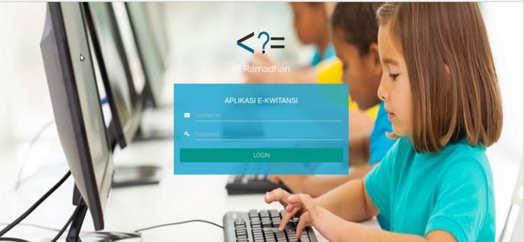 Download aplikasi e-kwitansi berbasis web gratis